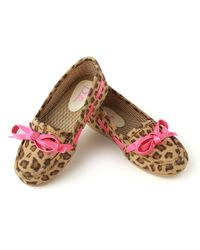 Dchica Awwsomely Cute Girls Shoes in Loafer Style with Animal Print, multicolor