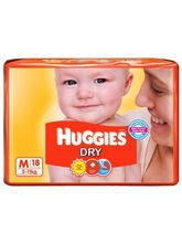 Huggies New Dry (Medium - 18 pieces)