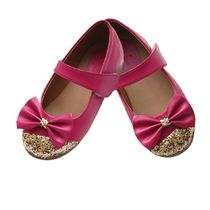 Dchica Super Glam Fuschia Shoes For Girls, fushia