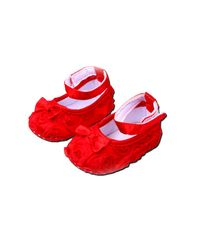 Dchica Gorgeous Princess Style Girl Shoes,  red