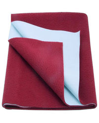 Babyrose Waterproof Baby Sleeping Mat - Large, large, maroon