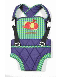 Mothertouch Baby Carrier - BCDENG, blue and green