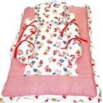 Red & White Bedding Set, standard-multicolor