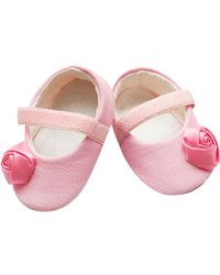 Dchica Sweet Pink Shoes For Baby Girls,  pink