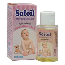 WestCoast Sofoil Baby Massage Oil ( Pack of 2), 300 gm