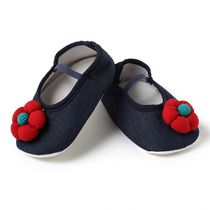Dchica Little Miss Cute Shoes For Baby Girls,  blue, 6-9 months