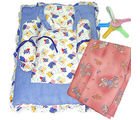 Soft Cotton Baby Bedding Set (Multicolor)