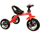 Saffire Kids Pedal Tricycle with Bell, red