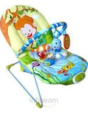 Tiny Toes Monkey Fishing Bouncer