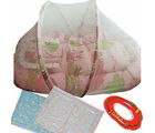 Useful Baby Bedding Combo Set (Multicolor)