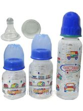 Camera Feeding Bottle Set Of 3 (Multicolor)