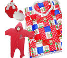 Baby Boy Cloth Bedding Combo (Red)