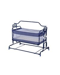 Mothertouch Compact Polka Dot Cradle CCDOT, navy blue