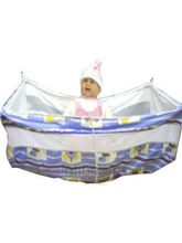 Baby Jhula with Net (Blue)