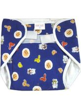 Baby Washable Diaper-2 (Blue, XL)