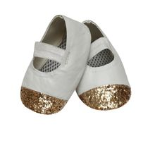 Dchica Cute Kitty Shoes For Baby Girls,  white