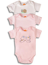 Pack of 3 Bodysuit (Multicolor)