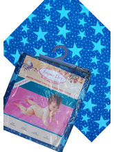 Baby Bedding Cloth-Printed (Blue, L)