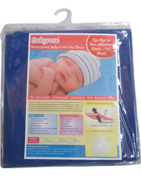 Babyrose Waterproof Baby Sleeping Mat - Medium, dark blue, medium