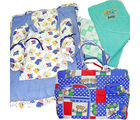 Baby Bag Bedding Clothes Set (Multicolor)