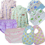 Baby Girl Clothing Caps Set, multicolor