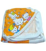 Printed Hood Towel (Multicolor)