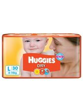 Huggies New Dry (Large - 30 pieces)