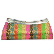 Bueva Stylish and Trendy Clutch For Women, multicolor
