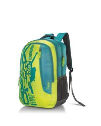 Skybags Pixel Plus 01 Backpack, lime green