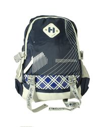 Hangout Blue Color Laptop Backpack
