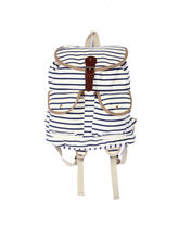 Samsara stripes shoulder bag– SA022A, cream
