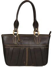 Galaxy pure leather ladies handbag