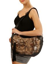 Lalana Women Stylish Handbag-L-263, black
