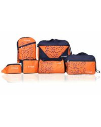 D Vogue London Set Of 6 Travelling Bags, multicolor