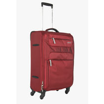 American Tourister 82cm ski Unisex Strolley Bag, burgundy and grey