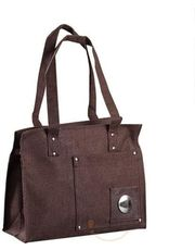 Ethnic Handcrafted Coffee Brown purse of recycled Jute_ 01