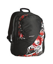 Wildcraft Graffiti Red Unisex Casual Backpacks, red