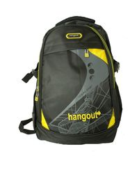 Hangout Black Color Laptop Backpack
