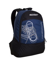 Wildcraft Spring Blue Unisex Casual Backpacks, blue
