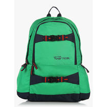 The Vertical 14 Inches Laptop Backpack, green