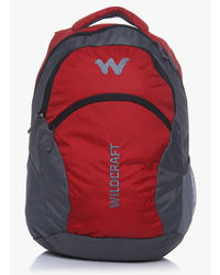 Wildcraft Ace 21L Laptop Bag, red