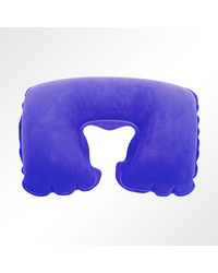 Viaggi Inflatable travel neck pillow, blue