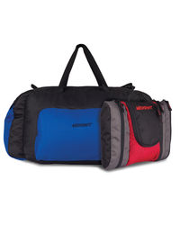 Wildcraft Orbit Blue Duffle and Gypsy Ray Blue Pouches Combo, multicolor