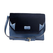 Lomond LM74 Sling Bag For Women, navy and royal blue