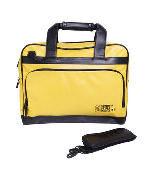 LapTop Bag, free,  yellow