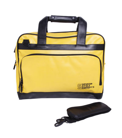 LapTop Bag,  yellow, free