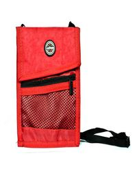 Travel Neck Pouch,  red