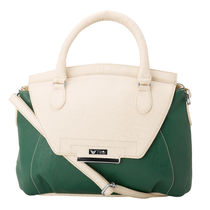 Beau Design Imported Pu Leather Sling Bag, green