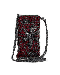 Anshul Fashion Branded Pouch, maroon