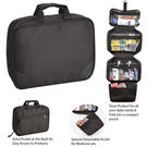 Tuelip 4 Layer Toiletry Bag, black